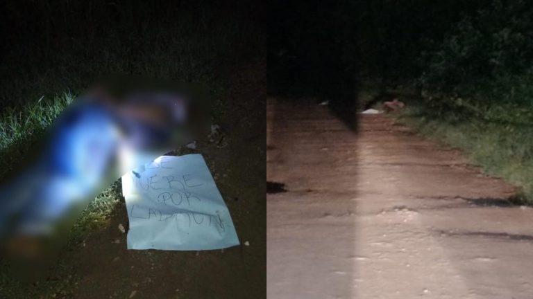 «Se muere por ladrón»: identifican a hombre dejado maniatado en La Planeta