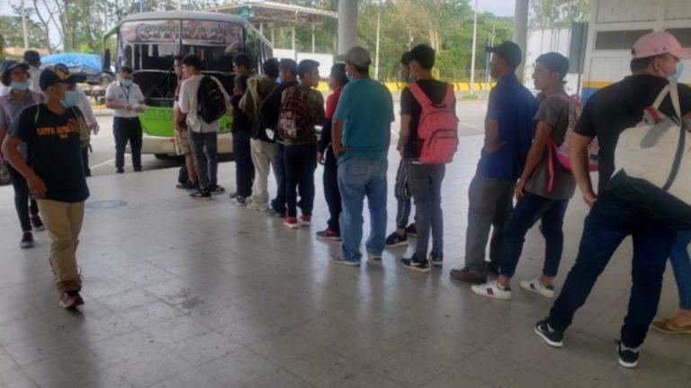 OIM: Cifra de personas deportadas al Triángulo Norte baja a 14,8 %