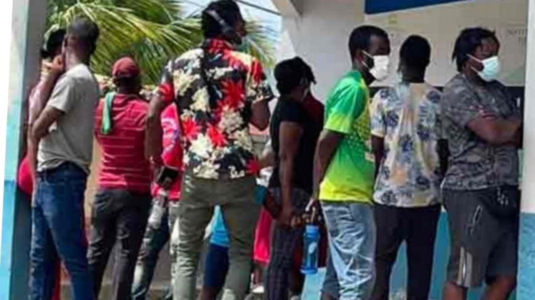 Iglesia de Trojes migrantes haitianos