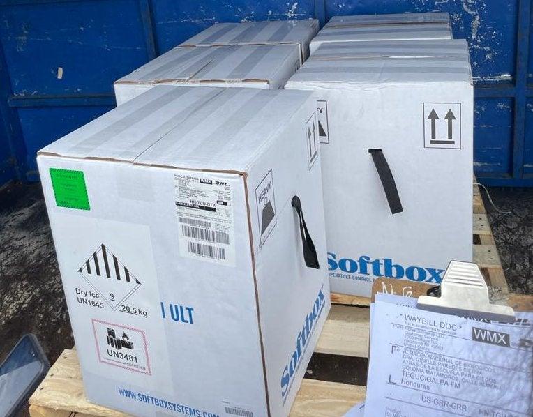Llega a Honduras el segundo lote con más de 59 mil dosis de Pfizer