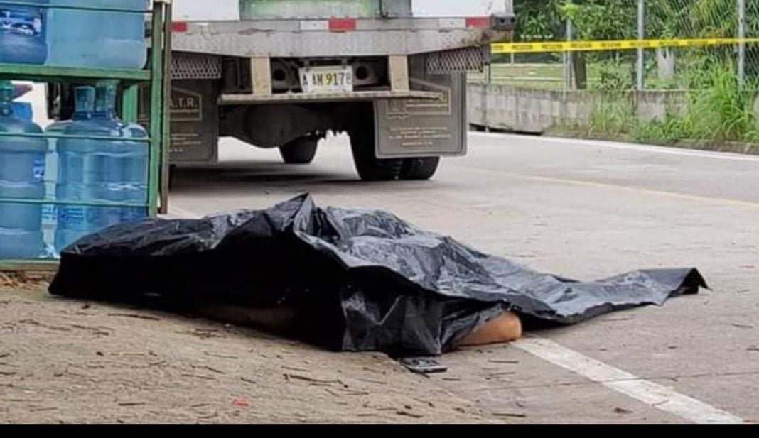 matan a distribuidor de lácteos Copán