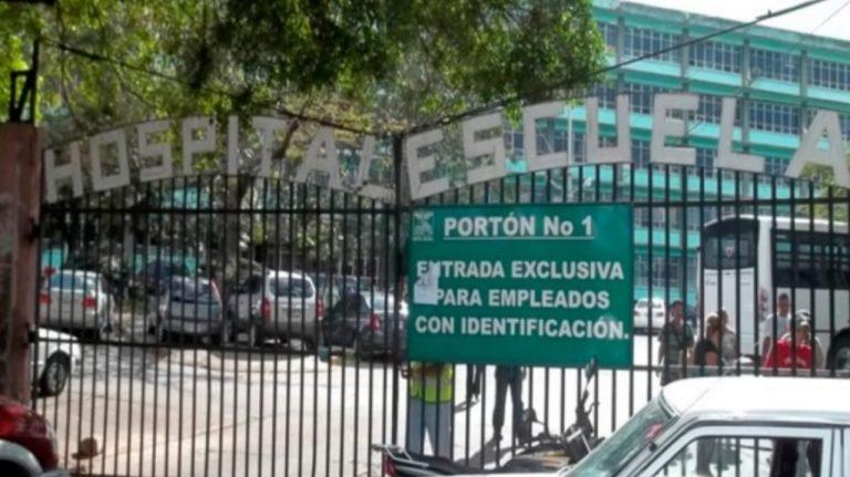 Ante la alta carga viral por COVID-19, Hospital Escuela cancela visitas
