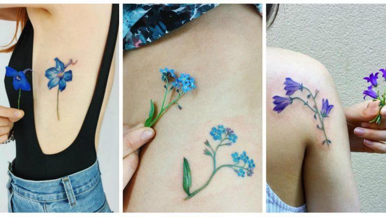 DE MUJERES  Ideas de tatuajes florales para las amantes de la naturaleza