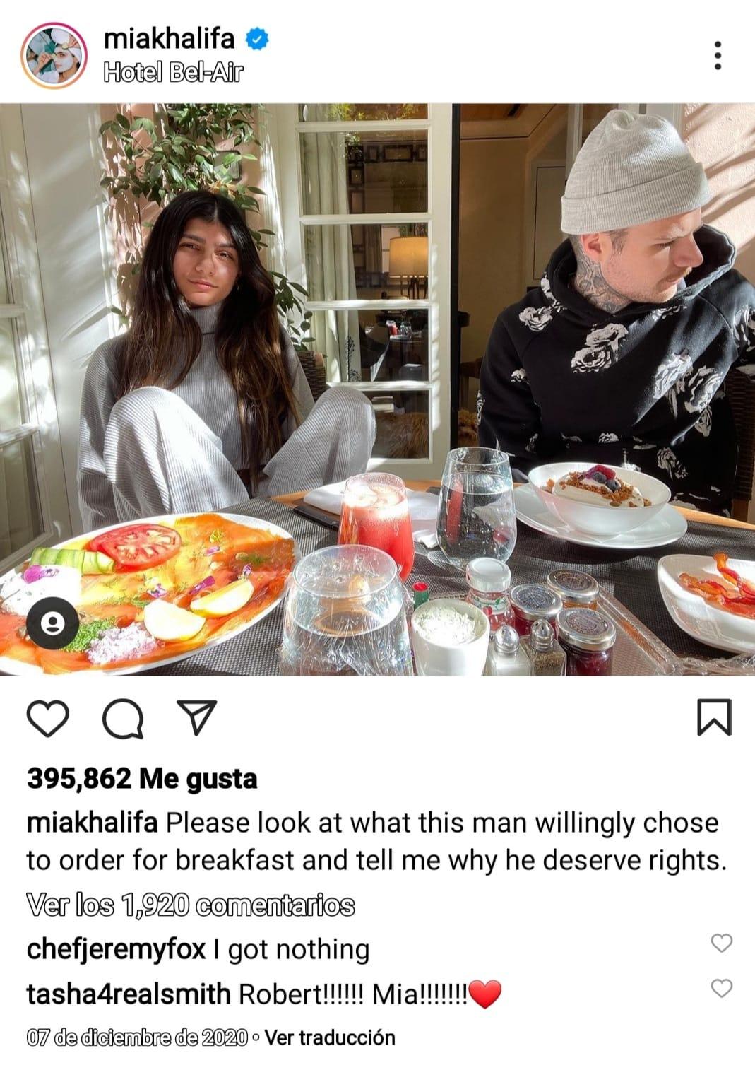 Mia Khalifa emotiva declaración