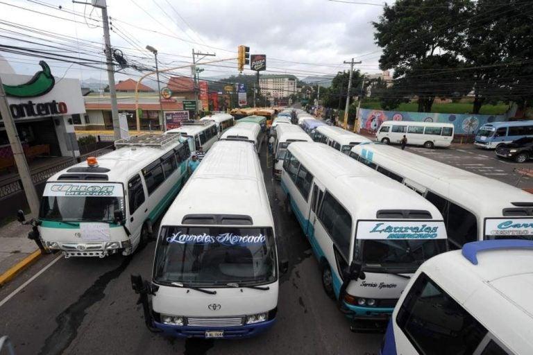 ¿Cancelado? Dirigente aclara si mañana viernes hay paro de transporte en Honduras
