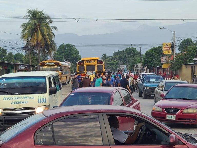 Paro de transporte en Honduras: qué exigen y hasta cuándo durará