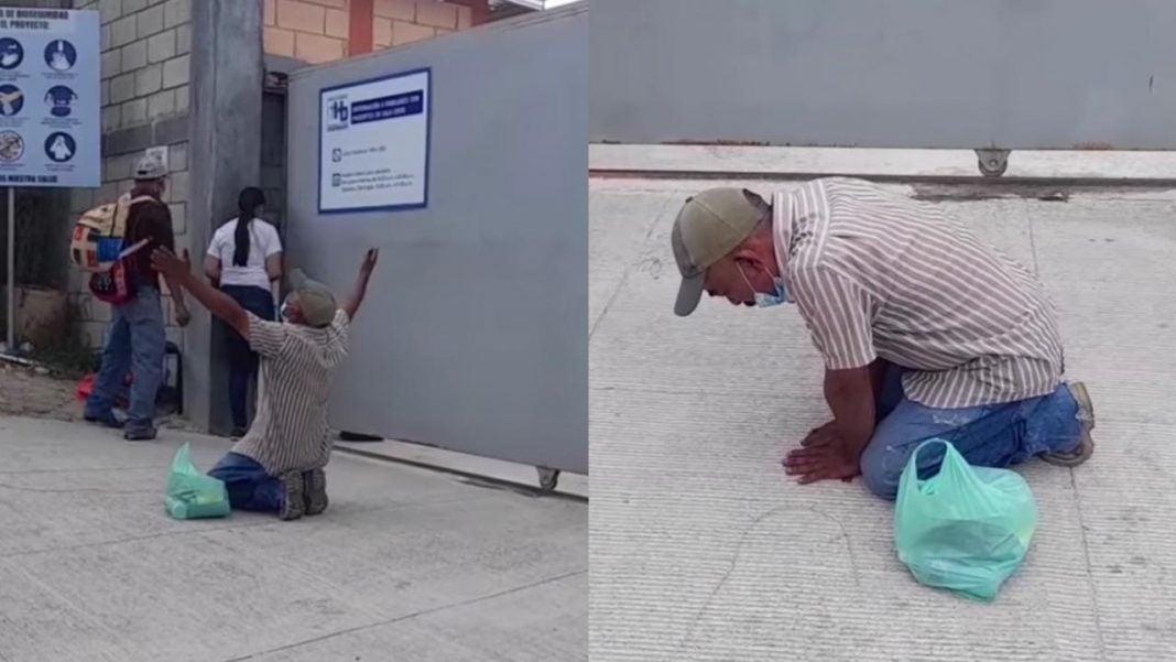 hondureño clama por su esposa