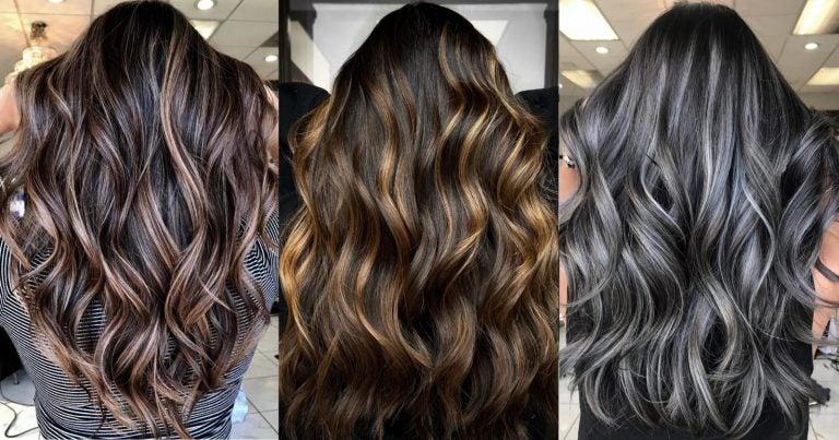 DE MUJERES  Las mechas para cabello negro en tendencia para este verano