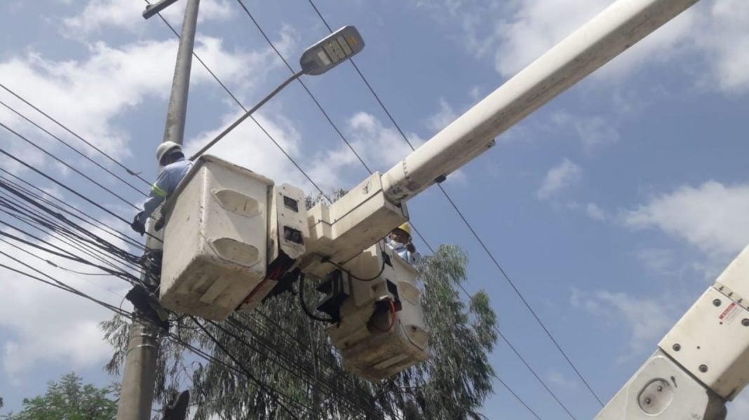 Cortes de energía miércoles en Honduras