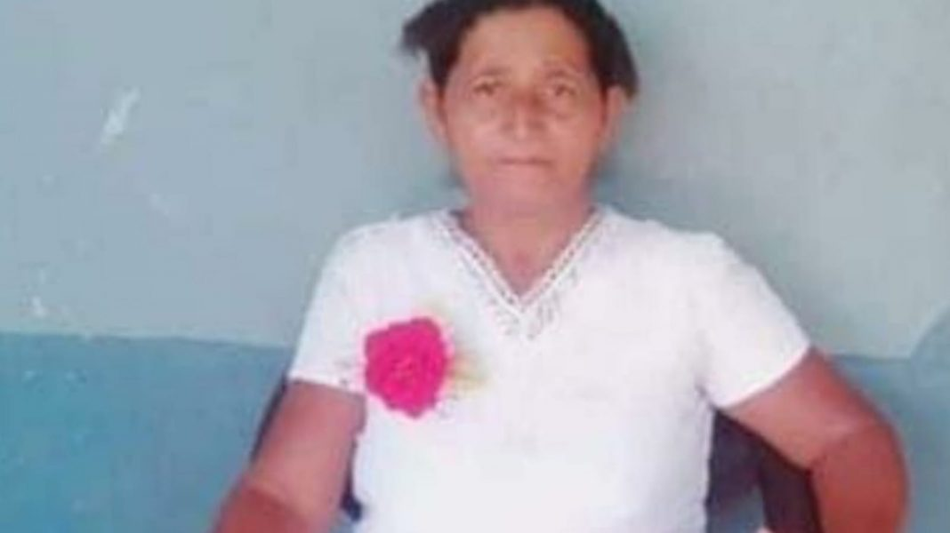 mujer muerta en Catacamas