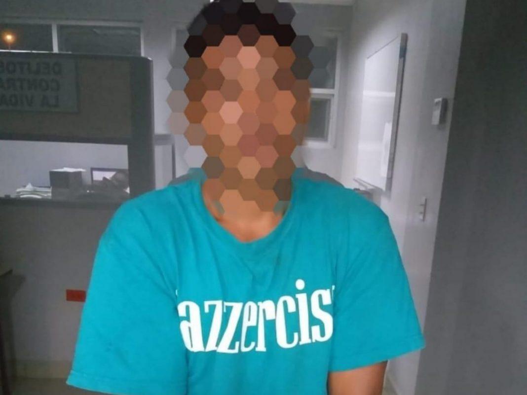 Hombre agresión sexual cuñada