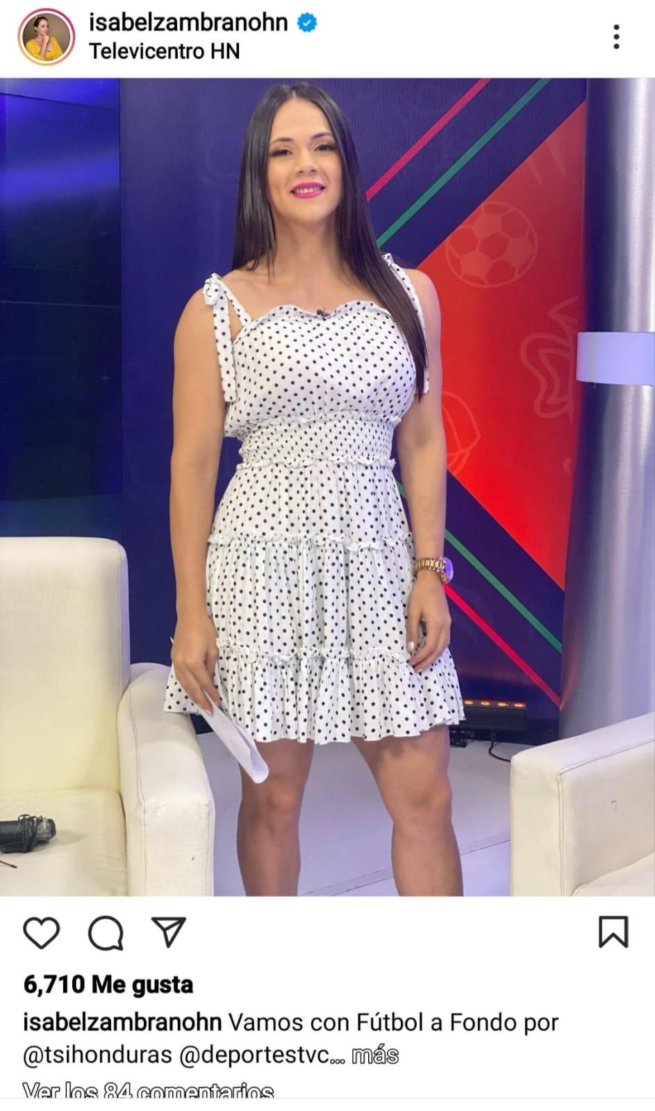Isabel Zambrano supera COVID-19