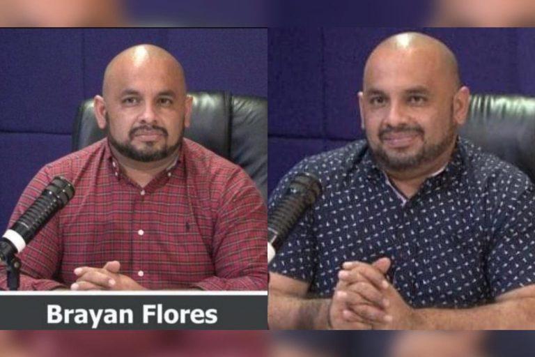 Periodista Brayan Flores mejora tras sufrir daño por COVID-19