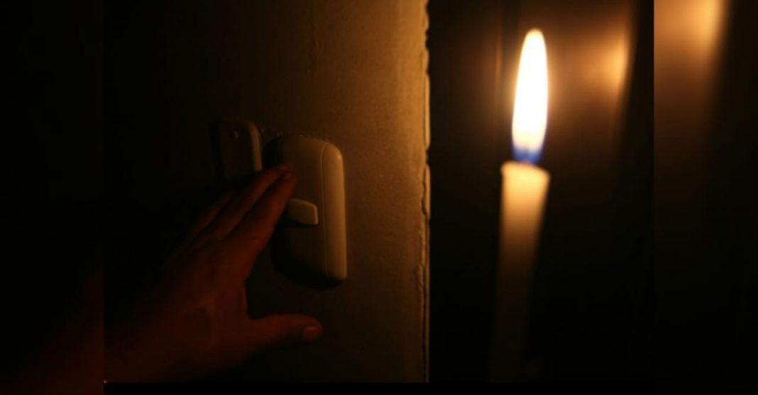 cortes de energía domingo
