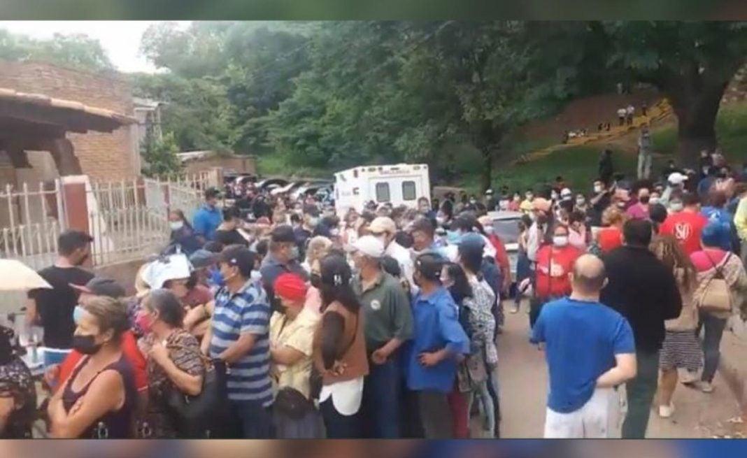 Vacunatón en Honduras