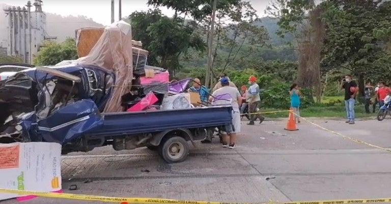 fallecidos en accidente en Choloma