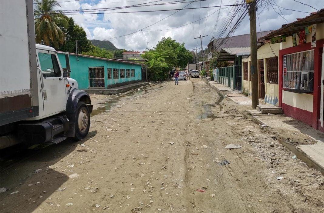 Municipalidad de SPS en Lomas del Carmen