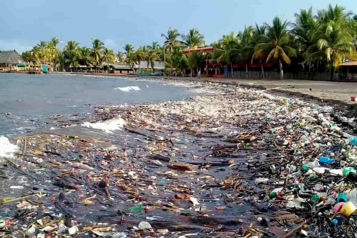 oleadas de basura en Honduras