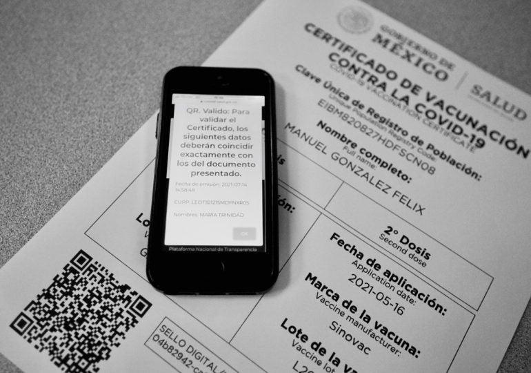 certificados falsos de vacunación