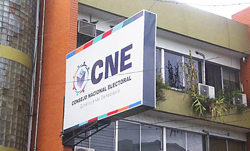 Presupuesto del Congreso para el CNE