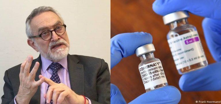 Combinación de AstraZeneca y Pfizer «es muy buena», asegura Salvador Moncada