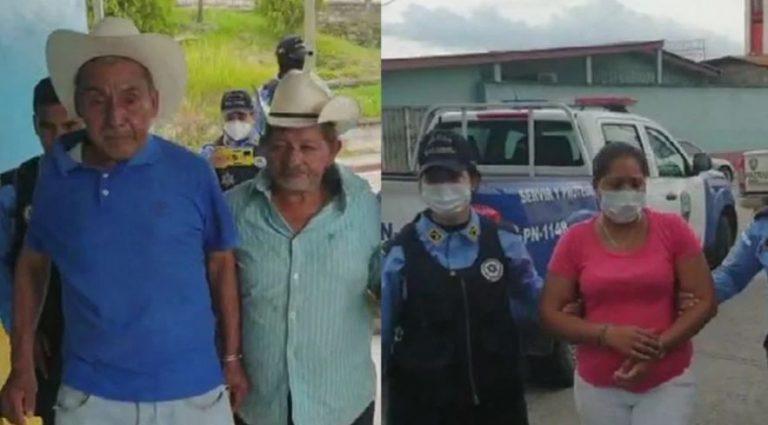 Arrestan a dos ancianos que violaban a niña de 9 años; la mamá era cómplice
