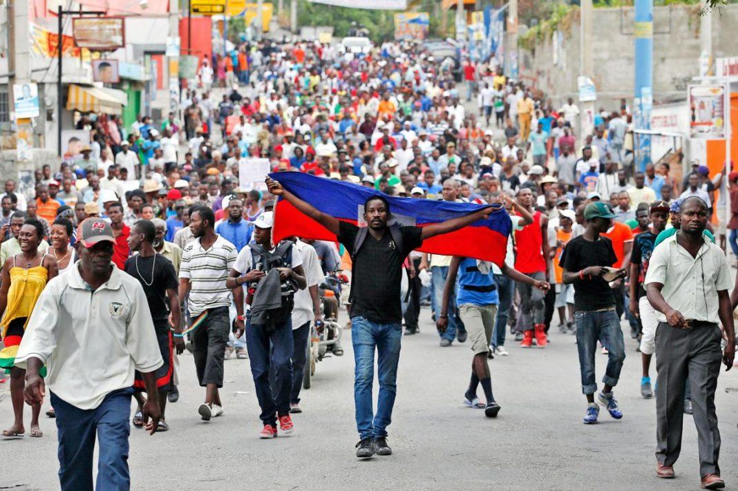 Crisis en política Haití.