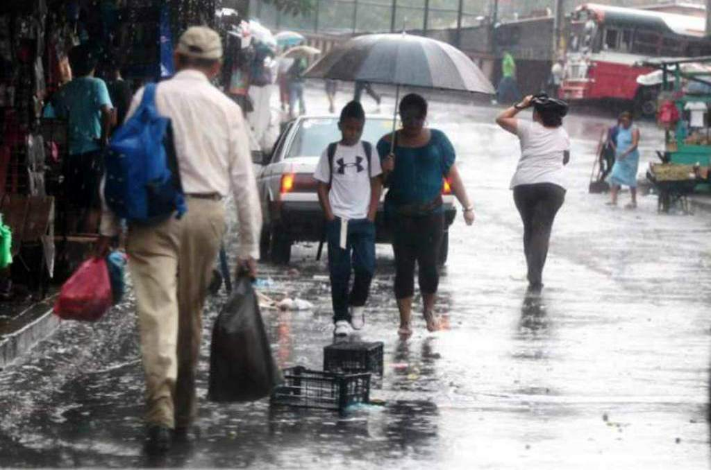Condiciones lluviosas Honduras