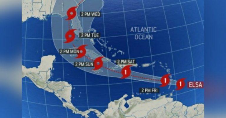 Elsa se convierte en el primer Huracán en el Atlántico de 2021