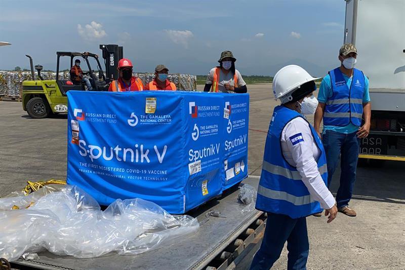 Salud espera respuesta sobre Sputnik V