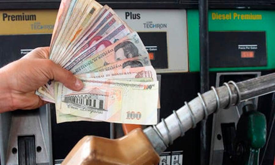 cuál es el precio de los combustibles en Honduras