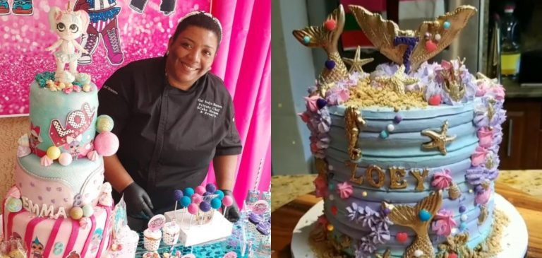 Hondureña «la rompe» en EEUU con explosión de arte y sabor en sus pasteles