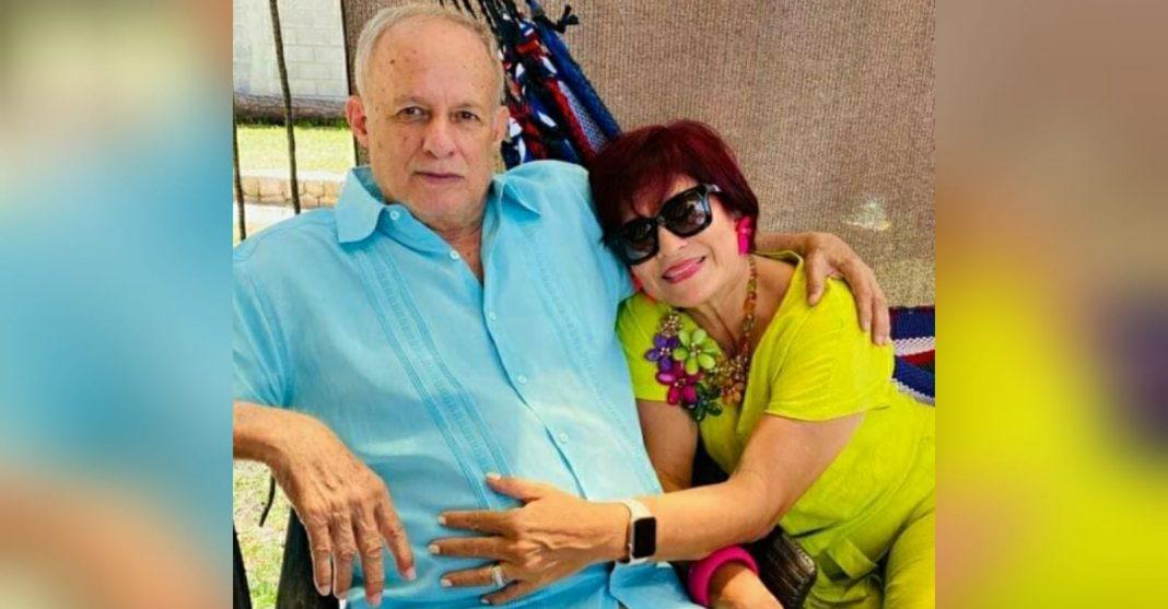 esposo de Carolina Echeverría intentó defenderse