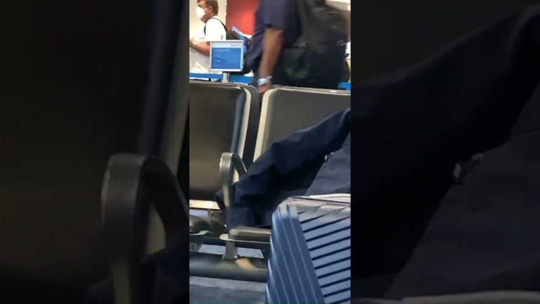 Captan a Carolina Lanza y al diputado Eder Mejía en aeropuerto de Miami
