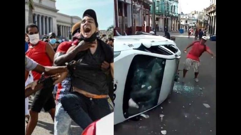 Protestas en Cuba: «Es mucho el dolor», claman madres de detenidos por «desorden público»