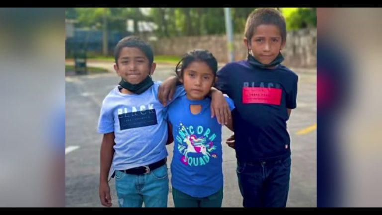 Honduras: cantante compra ropa a niños que piden en calles