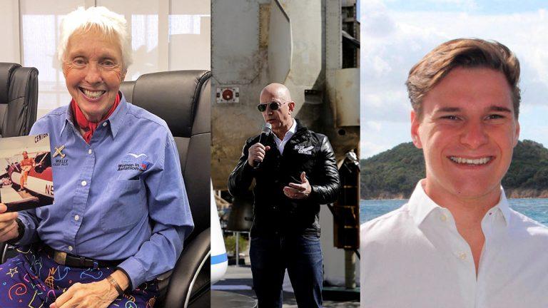 Viajará con Jeff Bezos: un estudiante de 18, la persona más joven en ir al espacio