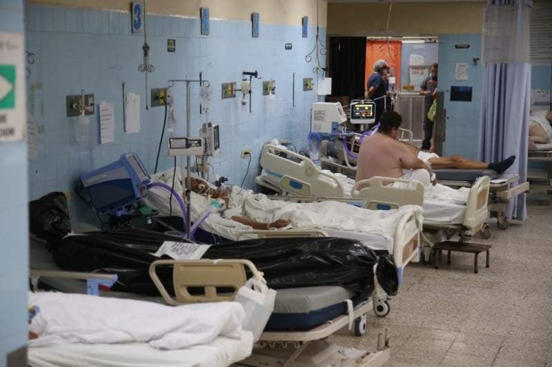 Hospital Escuela colapsado covid-19