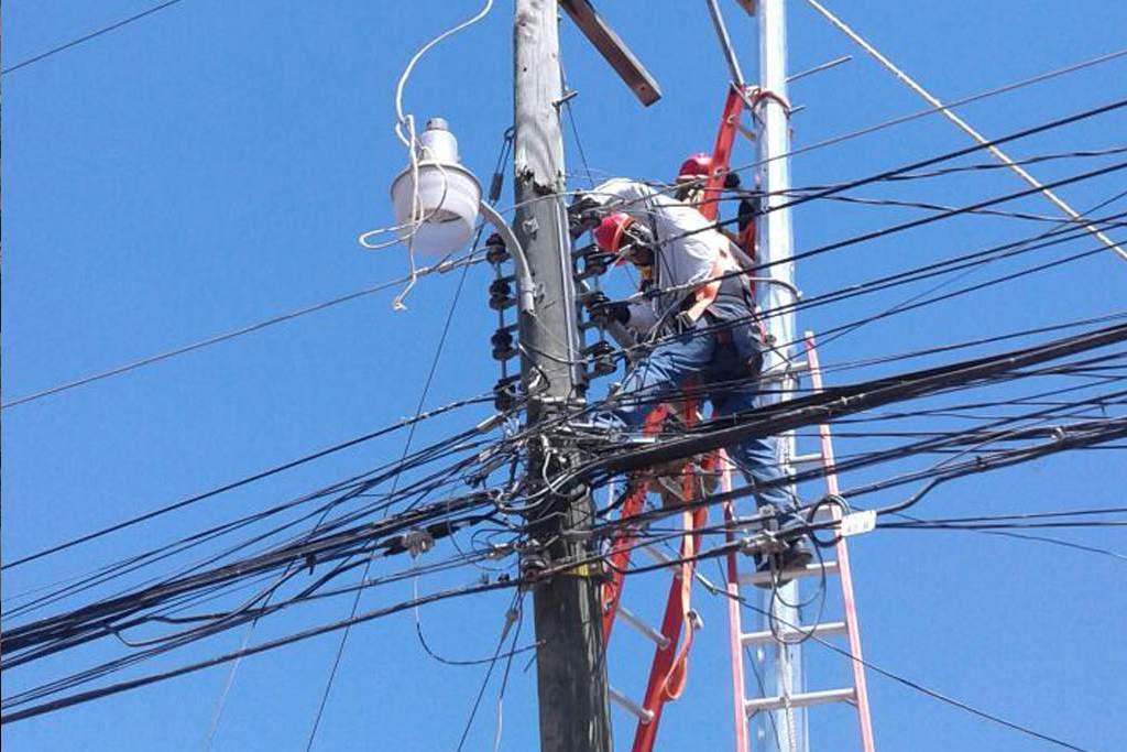 cortes de energía jueves Honduras