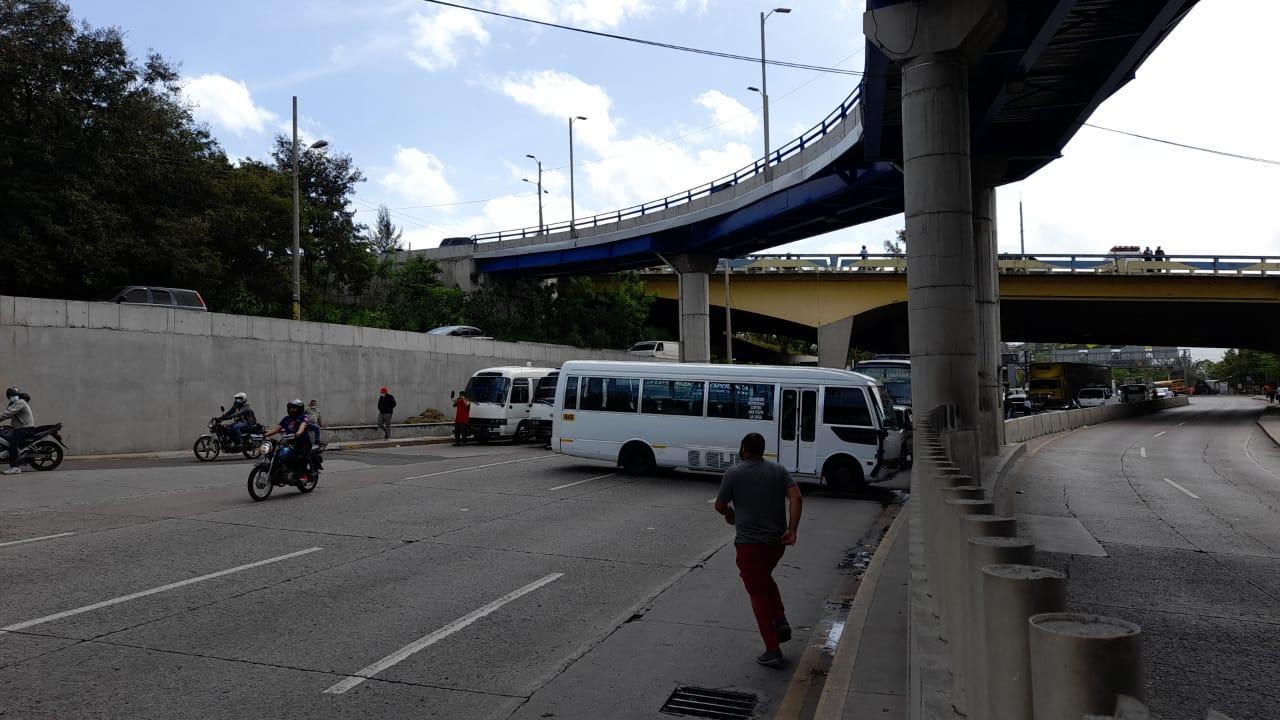 Paro transporte Tegucigalpa hoy