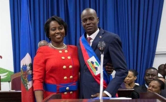 viuda del presidente de Haití