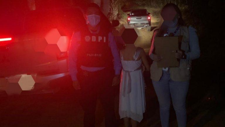Jutiapa, Atlántida: Rescatan a menor por supuesto abuso sexual de su hermano