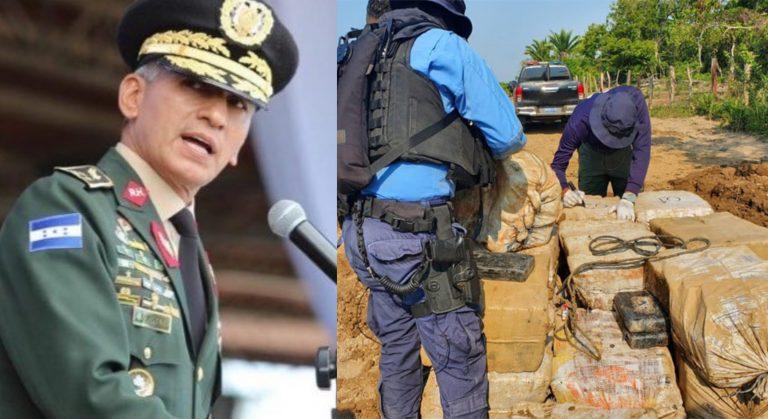 Jefe de FFAA advierte: Países que producen droga «están buscando sacarla»