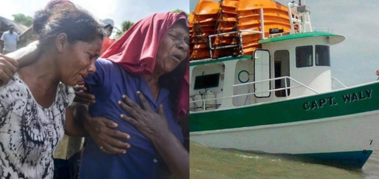 Se cumplen dos años de la tragedia: naufragio en La Mosquitia dejó 27 muertos