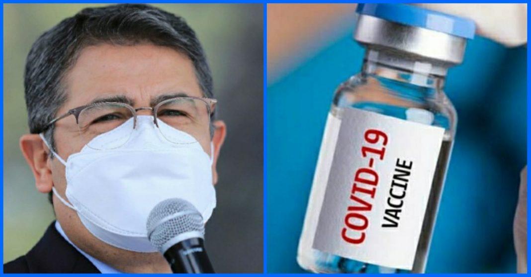 vacunas donadas por COVAX Honduras