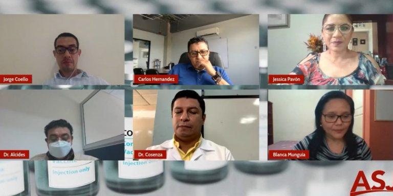 ASJ: Para inmunizar al 70 % de hondureños, hay que vacunar a unos 20 mil al día