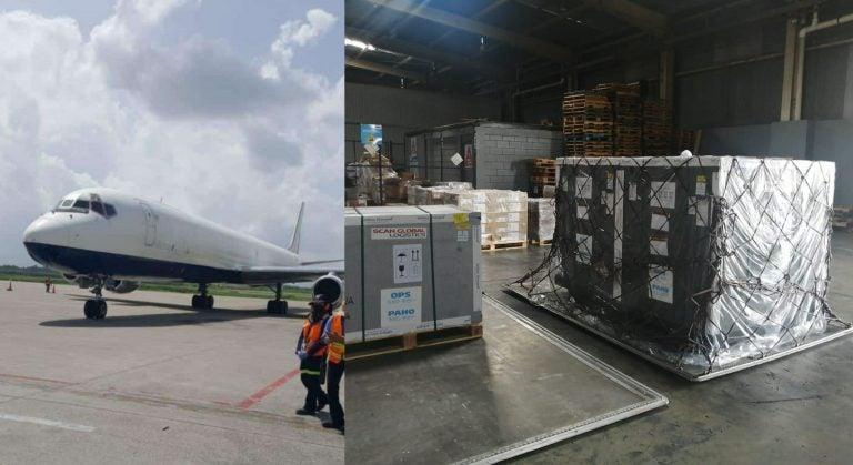 Llegan a Honduras 187 mil 200 vacunas de AstraZeneca donadas por COVAX
