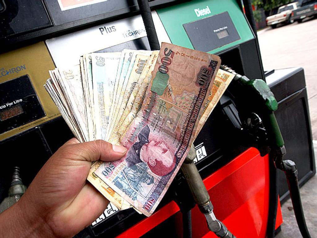 aumento a precio de combustibles