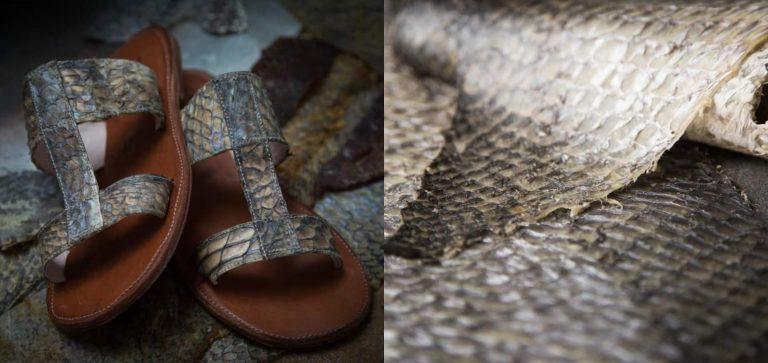 """Vos Honduras"": innovación hondureña en la moda con zapatos de cuero de pescado"