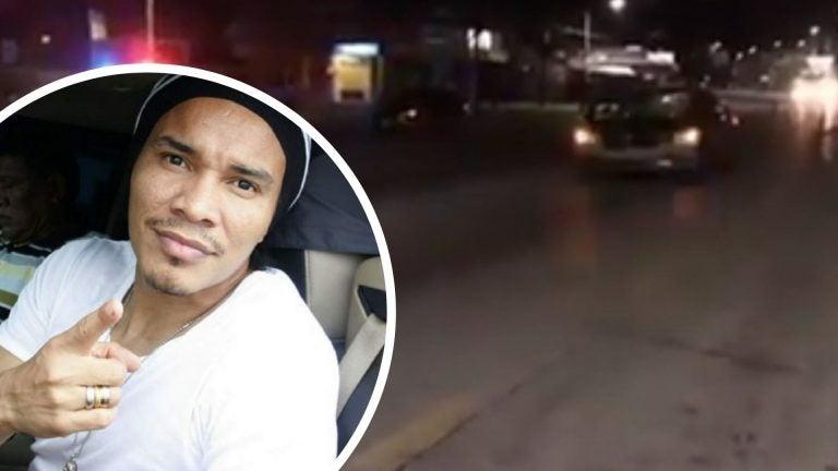 """""""Rambo"""" de León embiste a ciclista en Choloma; Policía lo detiene"""